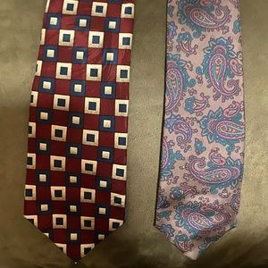 2 men's ties
